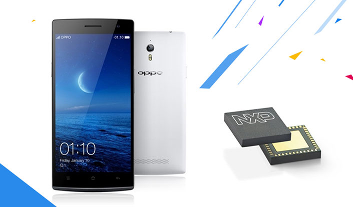 OPPO Find 7 employs NXP's latest NFC chip PN65O