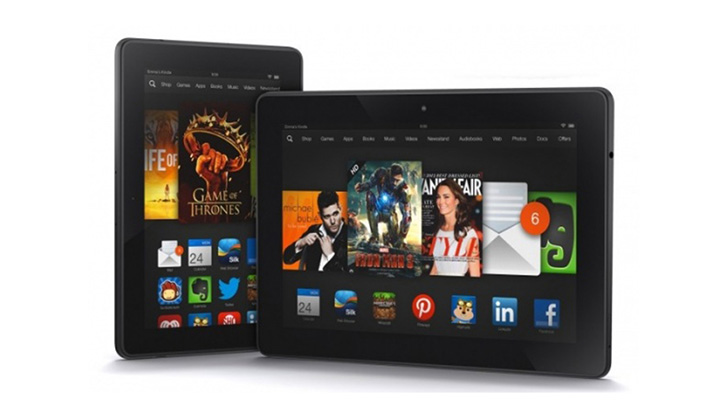 Amazon Kindle Fire HDX spreads its sales to Asia