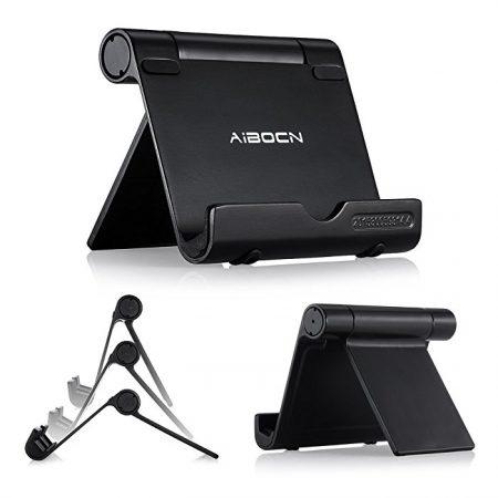 Upgraded Multi-Angle Aluminum Stand , Adjustable iPad Desk Stand