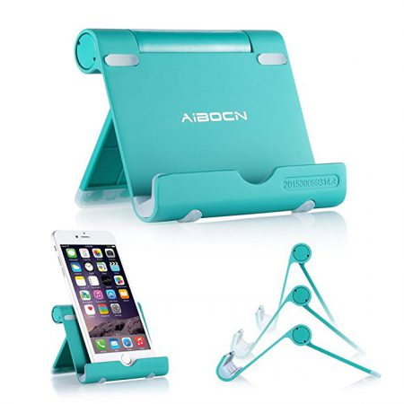 Fold Up Phone and Tablet Stand Support Loads Up to 12 Pounds