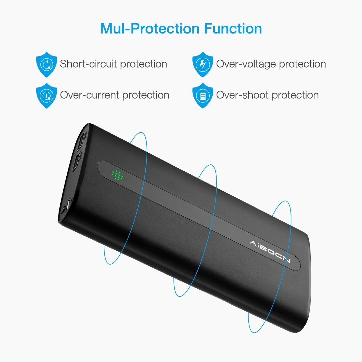 Compact Power Bank 20000mah Portable Battery For Samsung Galaxy Tablet To Usb Cable Wiring Diagram Dual Port Design